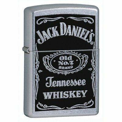 Zippo Lighter Jack Daniels Street Chrome 24779 on Rummage