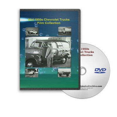 Mid 50s Chevrolet Chevy Trucks Film Collection on DVD C195