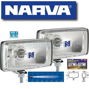 NARVA-MAXIM-180-85-RECTANGLE-DRIVING-LIGHT-KIT-SPOT-SPREAD-100W-100-WATT-72250