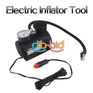 Auto-Electric-12V-Car-Portable-Pump-Air-Compressor-Tire-Inflator-Tool-300-PSI