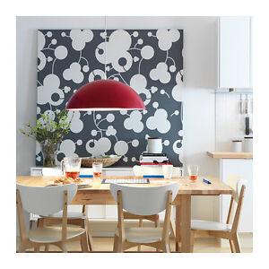 Dettagli su IKEA 365+ BRASA Lampadario a sospensione, rosso