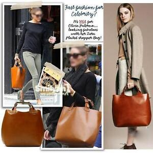 Vintage-Celebrity-Tote-Shopping-Bag-HandBags-Adjustable-Handle-Brand-ZW007