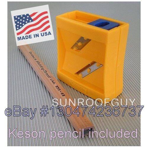 Keson Flat Point Carpenter Pencil Sharpener (cp2)