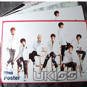 K-POP-UKISS-12-Posters-U-KISS-Collection-Bromide-2012-NEW-12PCS