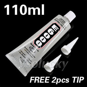 E6000 110ml 3.7oz Clear Glue Multi-Purpose Jewelry Adhesive Industrial Strength