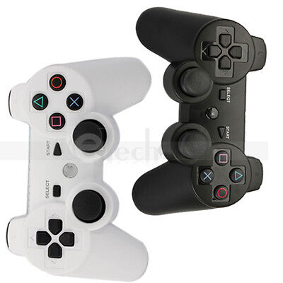 Lot2 Wireless Shock Controller for Sony Playstation 3 PS3 Black+White on Rummage