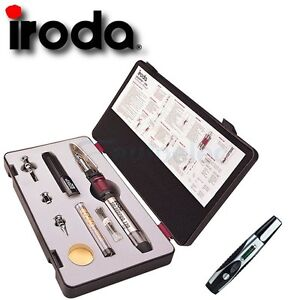 IRODA-PRO-120K-GAS-BUTANE-SOLDERING-IRON-WELDING-KIT-HOT-HEAT-NEW-6-IN-1