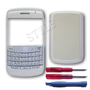 3 PC Housing Cover Case Faceplate For Blackberry Bold 9700 9780 + Tools