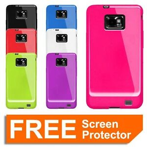Soft TPU Silicone Gel Case Cover for Samsung Galaxy S2 S II i9100