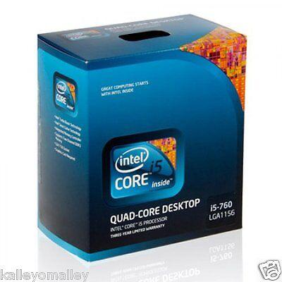 Intel Bx80605i5760 Slbrp Core I5-760 8m Cache Retail Box (english Version)