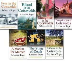 REBECCA TOPE ___ 7 BOOK SET ___ BRAND NEW __ FREEPOST UK