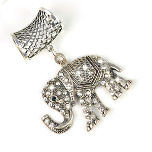 Hot-Fashion-DIY-Jewellery-Scarf-Accessories-Elephant-Pendant-Sets-Charm-PT-628