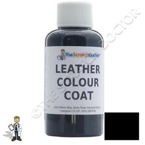 BLACK Leather Colour Coat for BMW Dye. Repair & Restore Colourant Kit