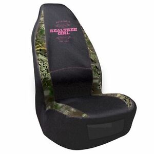 Realtree Girl Amp Max 1 Camo Pink Universal Seat Cover Car