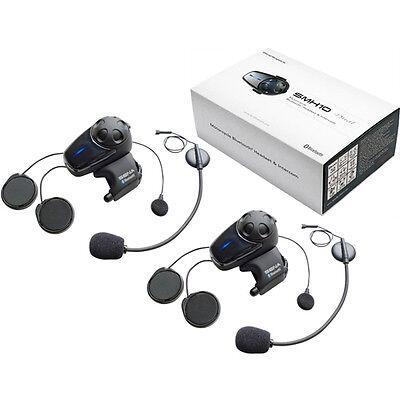 New Sena SMH10 Bluetooth Motorcycle Intercom Universal Headset - Dual Units