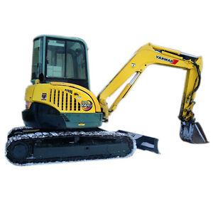 Yanmar Mini excavator Operators manual