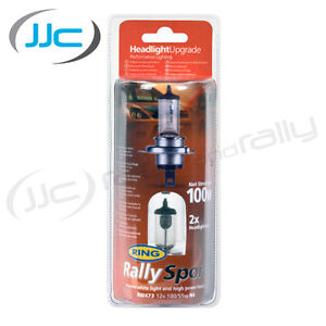 Ring Rally Sport Performance Headlight Bulb Twin H7 100w
