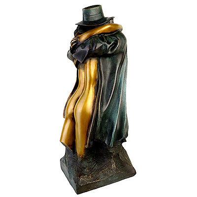 """BRUNO BRUNI - Original Bronzeskulptur """"RITORNO A CARRARA"""" (1999)"""