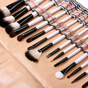 20-PCS-Pro-Eyebrow-Lip-Eyeshadow-Cosmetic-Makeup-Brushes-Set-Kit-Soft-Case-New