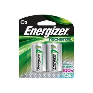 Energizer-NH35BP-2-Rechargeable-C-Batteries-2500-mAh-2-pack