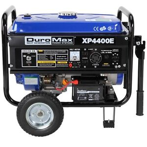 DuroMax-4400-Watt-Quiet-Portable-Electric-Start-RV-Gas-Powered-Camping-Generator