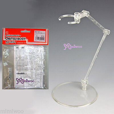 Obitsu 1/12 - 1/6 Dollfie Figure Plastic Multi Doll Stand Clear Assembly Kit on Rummage