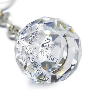 623413-Crystal-ball-Key-Ring-holder-Ring-Event-Present-Swarovski-MIB