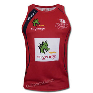 Queensland Reds 2013 Training Singlet XL