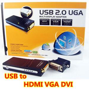 USB-2-0-To-VGA-DVI-HDMI-Multi-Display-Graphics-Adapter-Win7-64-32-Mac-HD-1080P