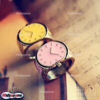 Candy Color Retro Vintage Small Watch Ring