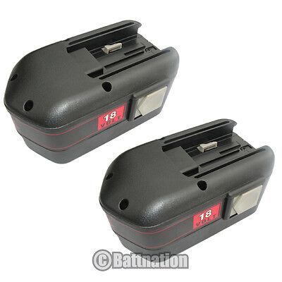 2 18 Volt 18v Battery For Milwaukee 48-11-2230 2ah