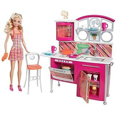 Barbie Stovetop to Tabletop Includes Kitchen Accessories Doll | eBay