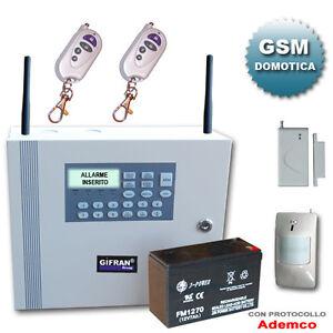 Antifurto wireless gsm allarme antifurto wireless for Internet senza fili casa