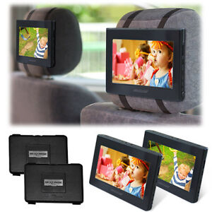 Nextbase CLICK9 DUO DELUXE Portable Dual Screen DVD Players with Headrest Mounts