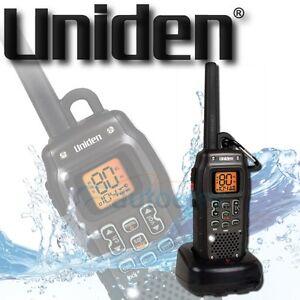 UNIDEN UH820SX-NB 80 CHANNEL HANDHELD WATERPROOF CB UHF RADIO 2W WATT FLOAT NEW