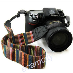 Camera Neck Shoulder Sling Strap Belt For CANON Nikon Sony Pentax Olympus Dslr