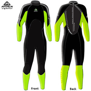 NEW Adrenalin Mens Steamer Wetsuit Long Sleeve & Leg 3mm/2mm Neoprene Wet Suit
