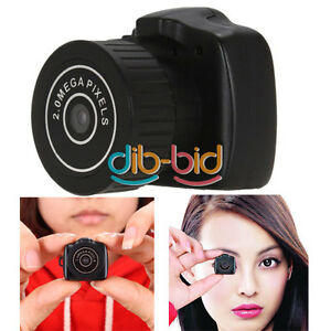The Smallest Mini HD Spy Digital DV Webcam Camera Video Recorder Camcorder Y2000