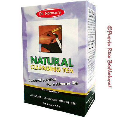 Dr. Norman's Natural Cleansing Tea Packaging