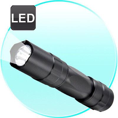 3W Handy Camping Pocket LED Flashlight - Super Bright Mini Torchlight + Keychain