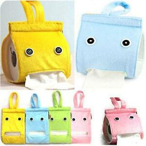 Hanging-Tissue-Holder-Dispenser-Cover-Plush-Cloth-Toilet-Paper-Container-Box