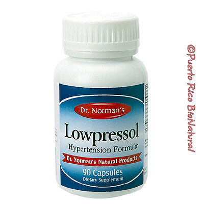 Dr. Norman's Lowpressol Packaging