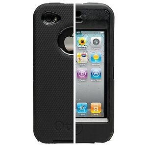 OtterBox DEFENDER Series for VERIZON iPHONE 4/4G - Black