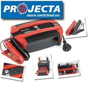 PROJECTA PC1600 12V AUTOMATIC BATTERY CHARGER 6 STAGE 16 AMP AGM GEL SLA 12 VOLT