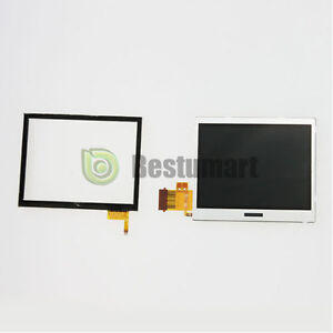 Digitizer  + Bottom LCD Display Screen For Nintendo DS lite DSL