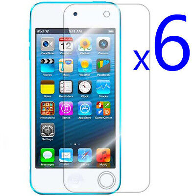 6X CLEAR Screen LCD Cover Protector Guard Film for ipod Touch 5 5g 5th Gen on Rummage