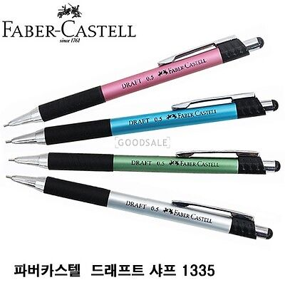 Faber Castell Draft Mechanical Pencils 0.5mm 1335 (ANY 4 PENCILS)