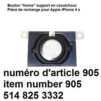 Home Button Holder Rubber Gasket Part for Apple iPhone 4S