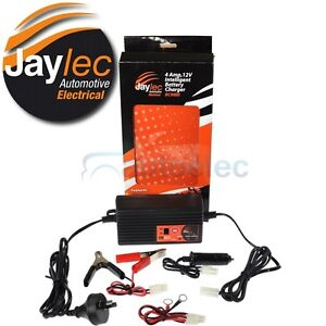 JAYLEC BC9000 SMART BATTERY CHARGER 12V CAR MOTORBIKE CARAVAN AGM DEEP CYCLE SLA