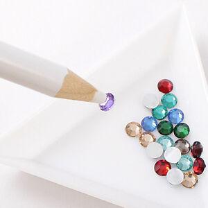 Rhinestones Picker Pencil NAIL ART gem JEWEL SETTER PEN picking tool wax crystal